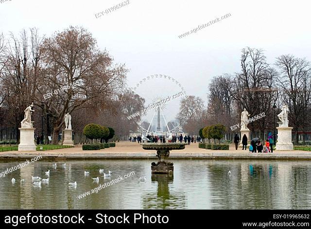 La Grande Roue, Paris, France