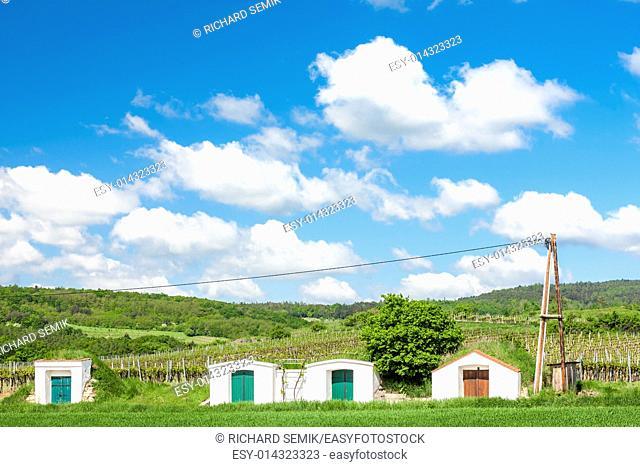 wine cellars in Retz region, Lower Austria, Austria