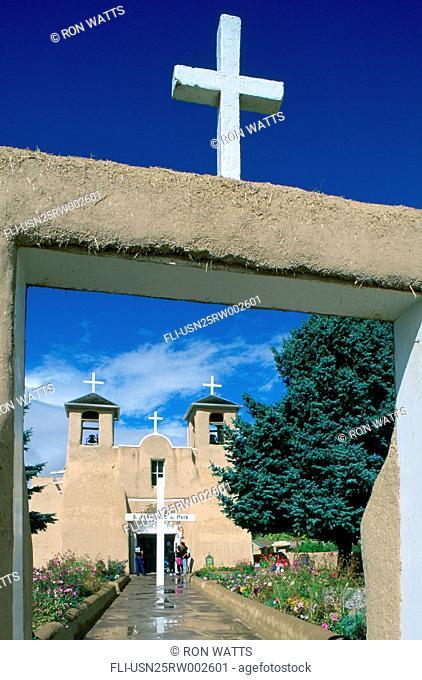 R.Watts, Taos, South Francisco de Asis, New Mexico