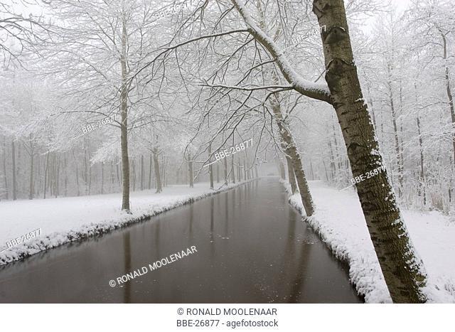 winterlandscape Alblasserwaard