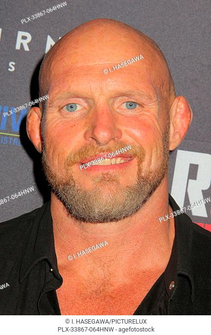"Keith Jardine 09/16/2019 """"Running with the Devil"""" premiere held at Writers Guild Theater in Beverly Hills, CA Photo by I"