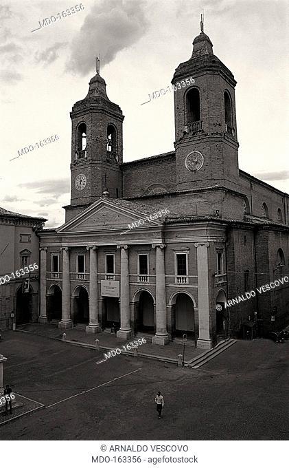 Camerino Cathedral, by Andrea Vici e Clemente Folchi, 19th century, 1802-1832