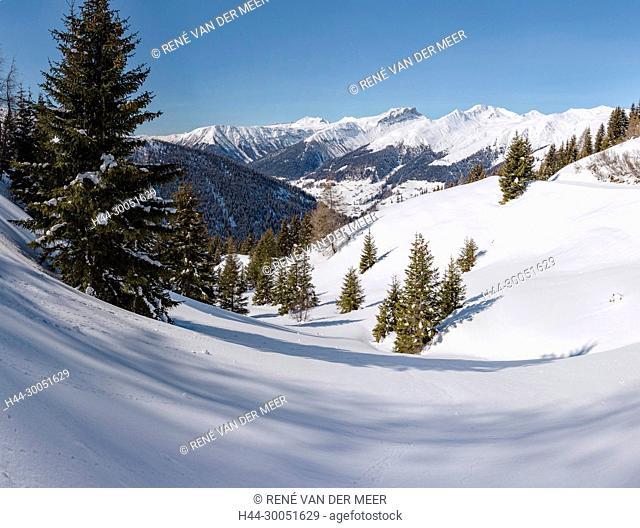 Sertig valley, Davos, Schweiz Switzerland