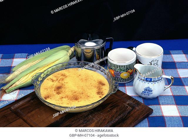 Curau, green corn