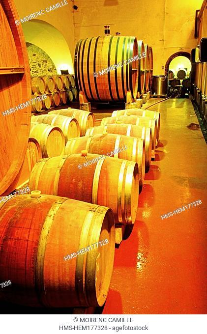 France, Var, Les Arcs, Domaine Château Sainte Roseline, Côtes de Provence wine, compulsory mention