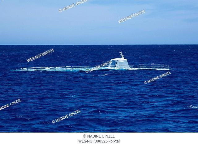 Emerging submarine