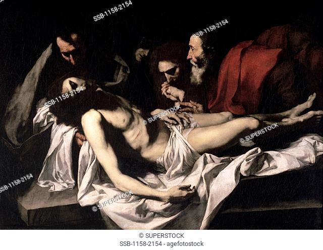 The Deposition 17th C. Jusepe de Ribera 1591-1652 Spanish Oil on canvas Musee du Louvre, Paris