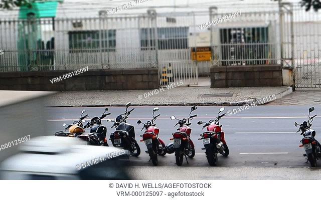 Road traffic, Vitoria, Espirito Santo, Brazil