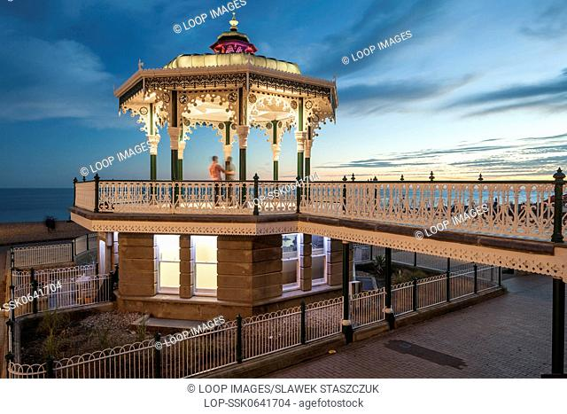Late summer evening at Brighton Bandstand