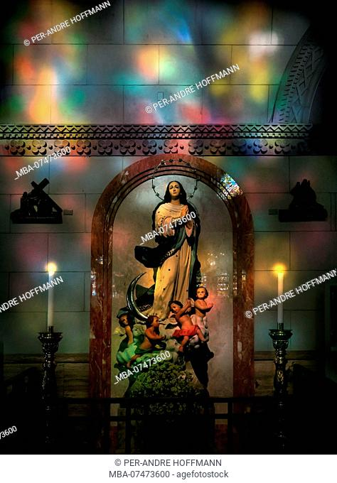 Madonna in Manila Cathedral, Intramuros, Manila