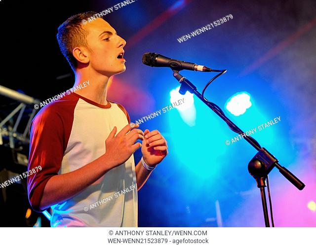 Godiva Festival 2014 - Day 3 - Performances Featuring: Jack Dickson-Carvell Where: Coventry, United Kingdom When: 06 Jul 2014 Credit: Anthony Stanley/WENN