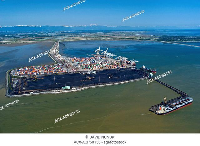 Delta Port from the air