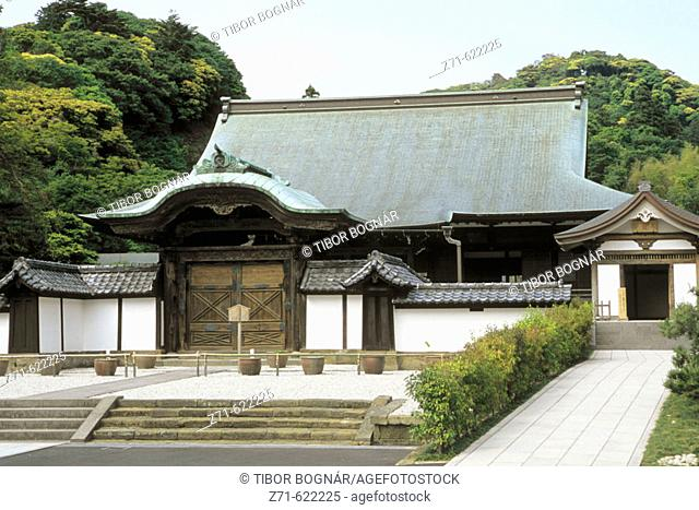 Japan, Kamakura, Kencho-ji buddhist temple