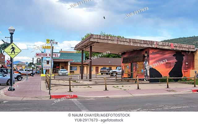 Main street, City of Williams, Arizona, USA
