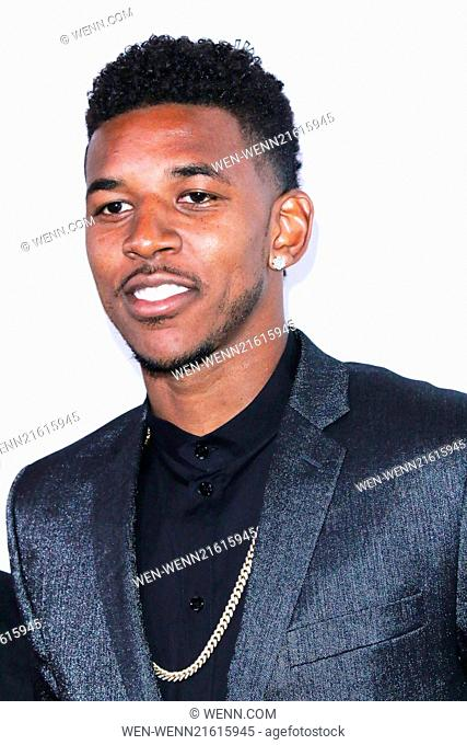 14th Annual Harold & Carole Pump Foundation Gala - Arrivals Featuring: Nick Young Where: Los Angeles, California, United States When: 09 Aug 2014 Credit: WENN