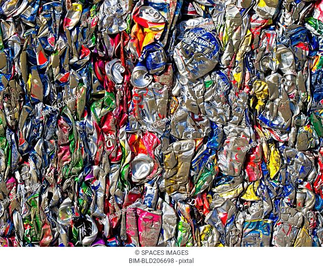 Recycled Aluminum Cans