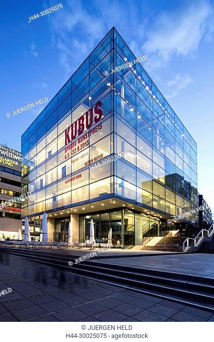 Kubus, Modern Art Museum, Stuttgart , Germany