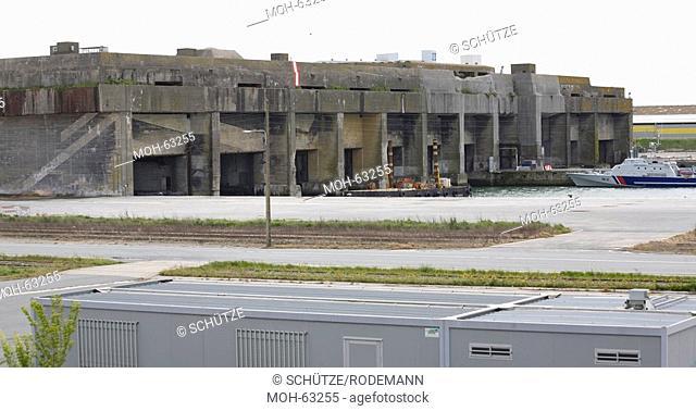 La Rochelle, ehemaliger deutscher U-Boot-Bunker