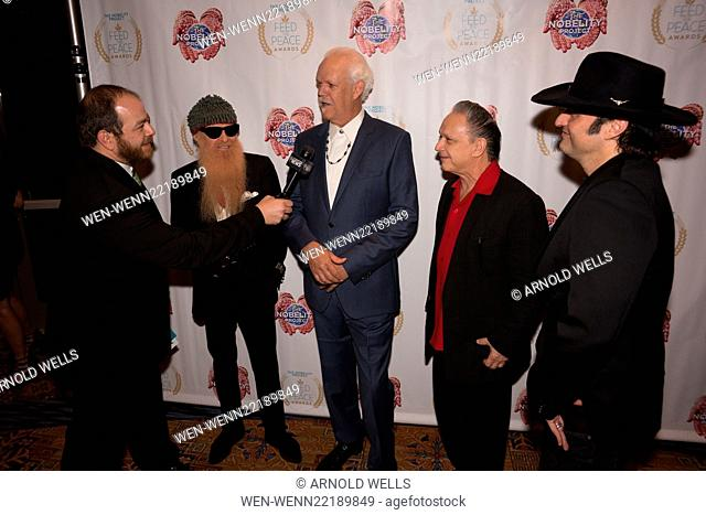 Feed the Peace Awards at the Four Seasons Austin honoring Kyle Chandler and Steven Van Zandt Featuring: Andy Langer, Billy Gibbons, Turk Pipkin, Jimmie Vaughan