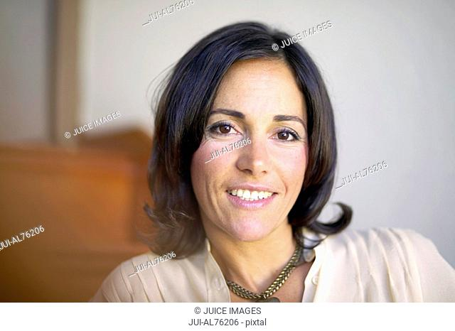 View of woman smiling