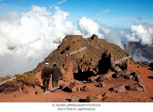 Roque de los Muchachos, Caldera de Taburiente National Park, La Palma, Canary Islands, Spain