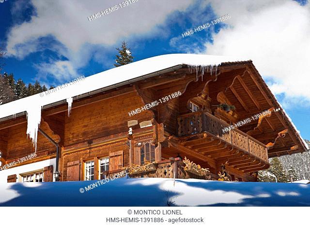 Switzerland, Canton of Vaud, Villars sur Ollon