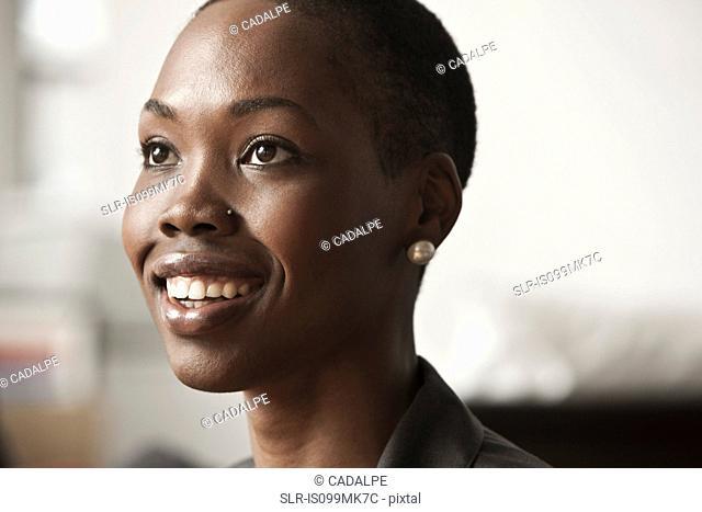 Young businesswoman, portrait