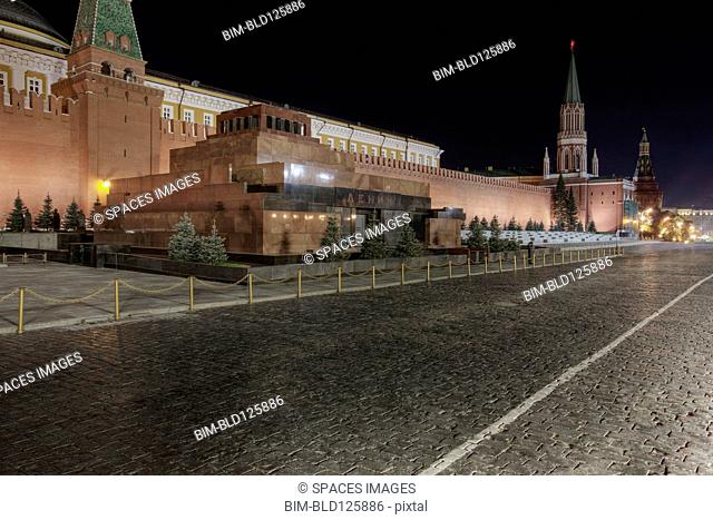 Lenin's tomb and Red Square, Moscow, Russia