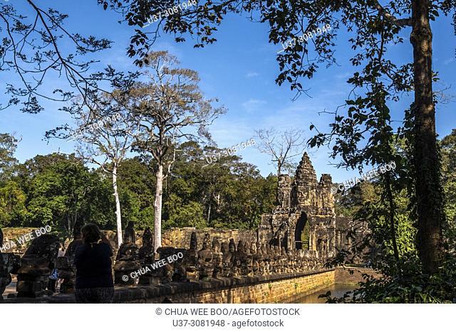 Angkor Thom, Angkor Temples complex, Cambodia, Asia