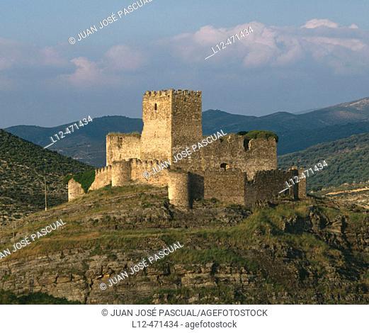 Castle, Magaña. Soria province, Castilla-Léon, Spain
