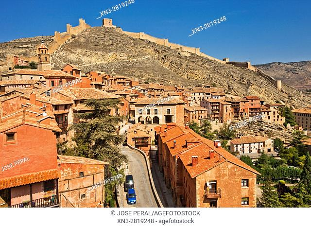 Albarracín, Teruel Province, Aragon, Spain
