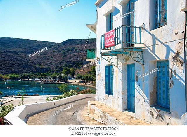 house for sale at the coast, Adamantas, Milos, Greece
