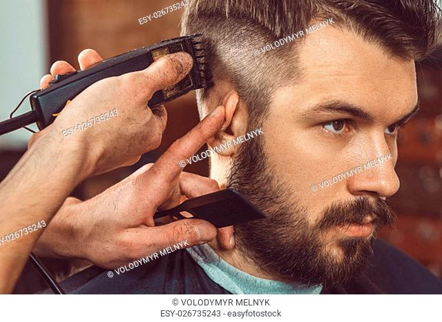 Combing Comb Beard Stock Photos And Images Age Fotostock