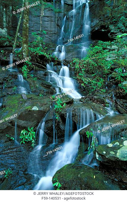 Waterfalls. Great Smoky Mountains National Park. Tennessee. USA