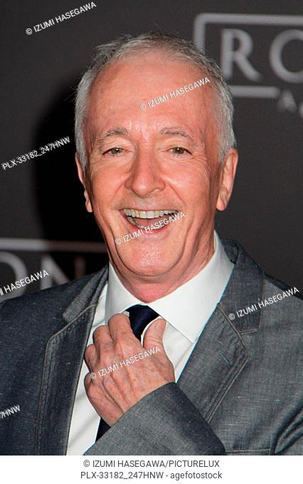 """Anthony Daniels 12/10/2016 The World Premiere of """"""""Rogue One: A Star Wars Story"""""""" held at the Pantages Theatre in Los Angeles"""