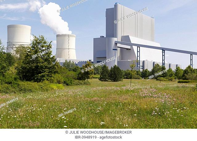 Schwarze Pumpe Power Station, Spremberg, Brandenburg, Germany