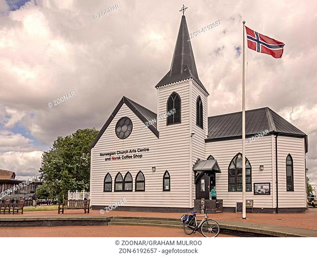 The Norwegian Church Cardiff Bay Glamorgan UK