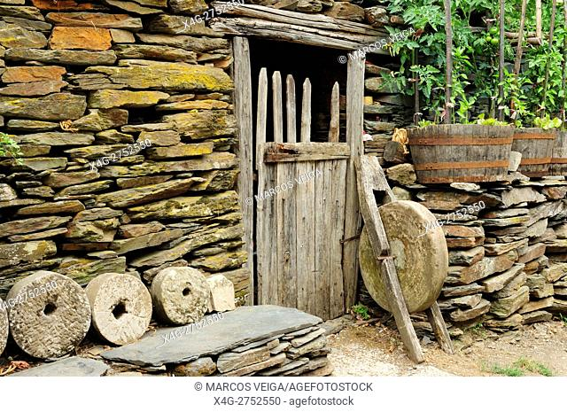 Old rural implements. Galicia, Spain