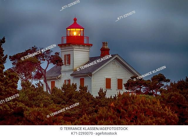 The lighthouse at Newport, Oregon, USA