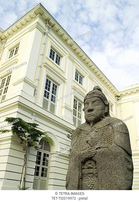 Asian Civilizations Museum Empress Place Singapore Statue of Ming General