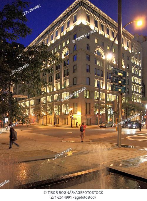 Canada, Quebec, Montreal, Square Victoria, Centre du Commerce Mondial,