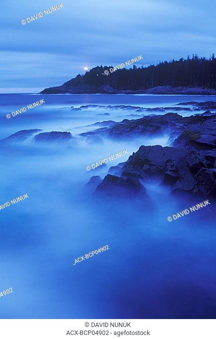 Langara Lighthouse, Langara Islands, Queen Charlotte Islands, British Columbia, Canada