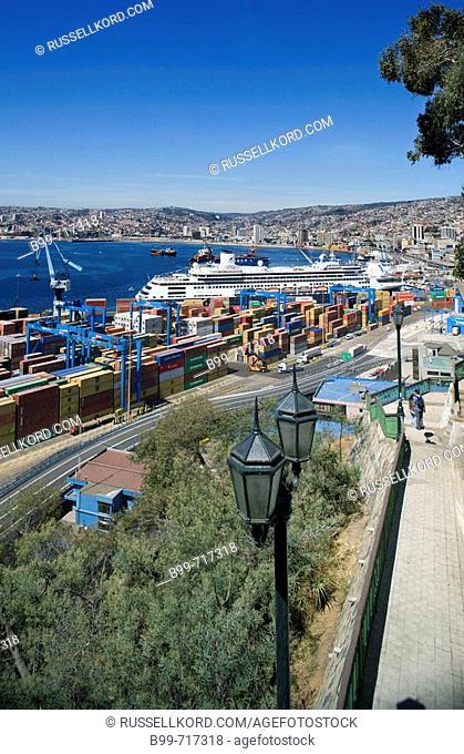 Barrio Puerto Port, Valparaiso Chile