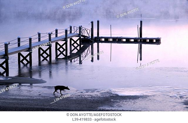 Buttermilk Bay. Massachusetts. USA