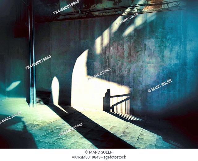 Interior, lights, shadows