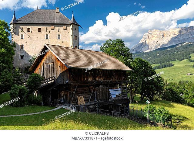 Ciastel Colz. Alta Badia, Trentino Alto Adige, Italy