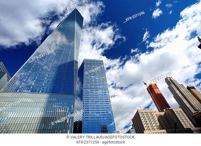 The One World Trade Center, Manhattan, New York City, New York, USA