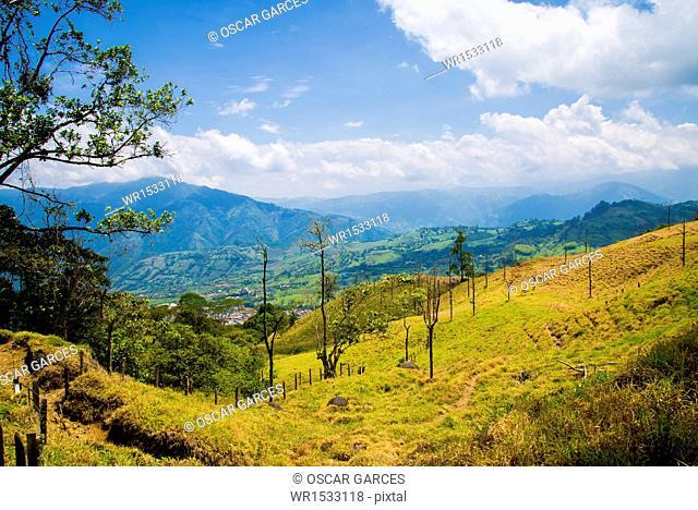 Landscape Venecia, Antioquia, Colombia