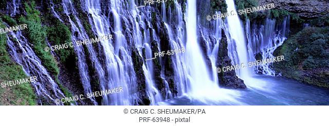 Burney Falls McArthur Burney Falls Memorial State Park CA USA