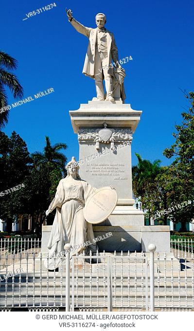 Cuba: Jose Marti Memorial in the city of Cienfuegos